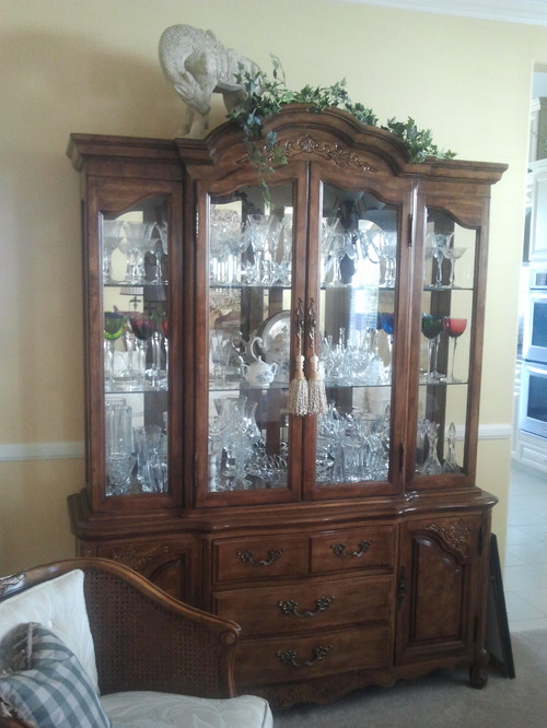 Nice Reuse An Outdated China Cabinet