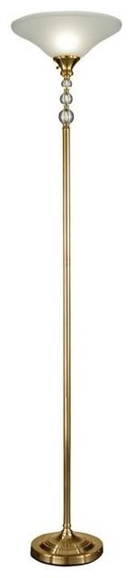 Titan Tall Shelf Floor Lamp
