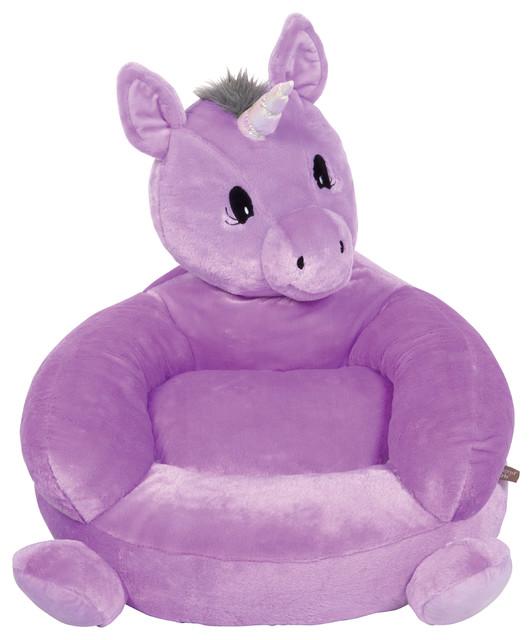 Trend Lab Children S Plush Unicorn Character Chair