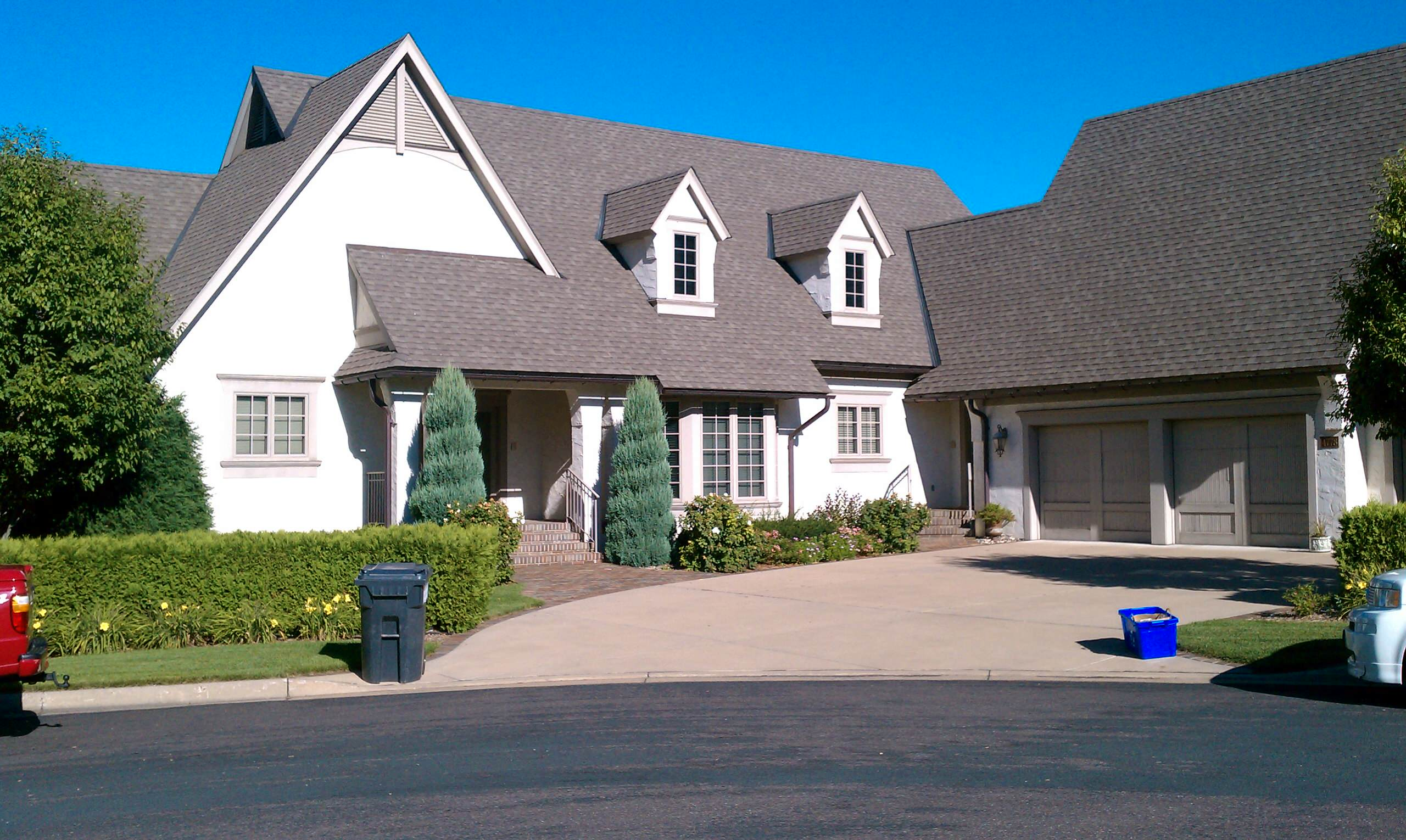 White Bear Lake - Stucco Replacement BEFORE