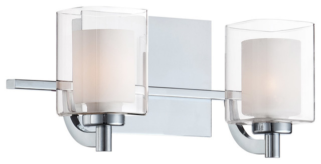 Contemporary Bathroom Vanity Lights quoizel klt8602c kolt bathroom vanity lights - contemporary