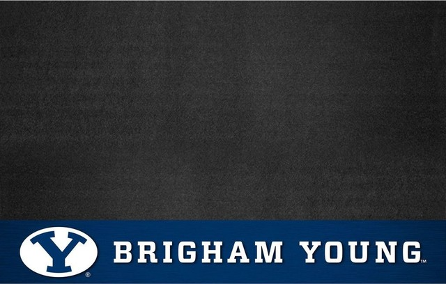 Byu Cougars Bbq Grill Mat.