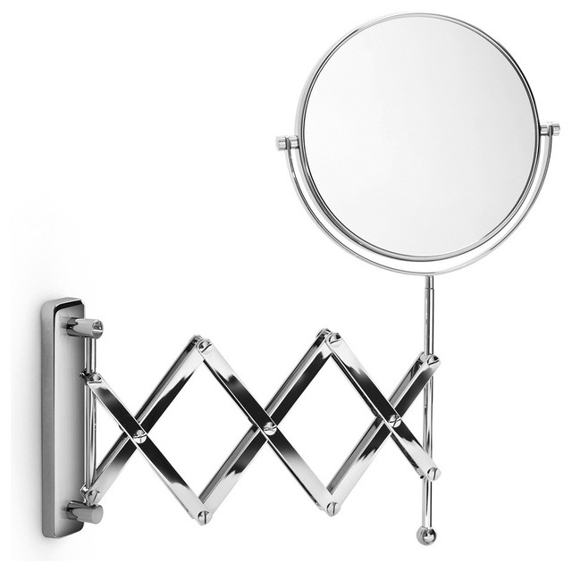 Ordinaire Magnification Mount Wall Mirror. Extendable Bathroom Mirror Jecontacte U2026