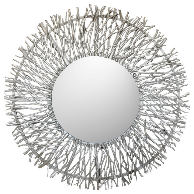 Contemporary Wall Mirror iker tree branch wall mirror - contemporary - wall mirrors -