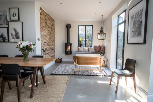 Contemporary Living Room Feel Cosy