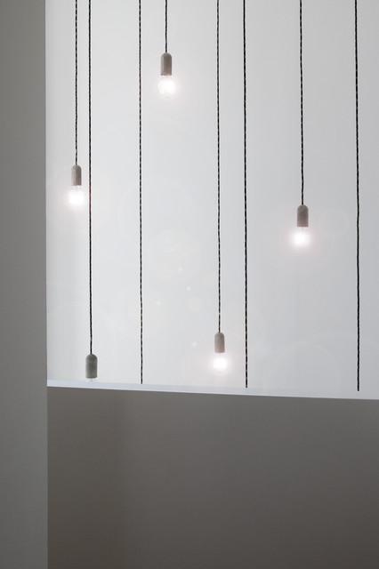 Hängeleuchten Modern luftraum mit hängeleuchten