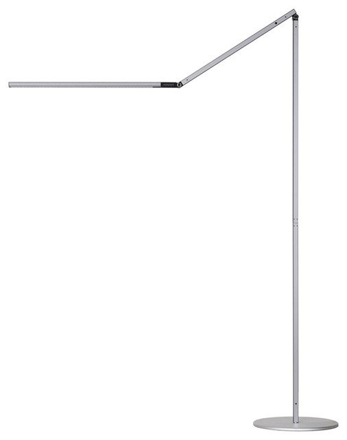 Koncept Z-Bar LED Floor Lamp, Cool Light, Silver - AR5000-CD-SIL-FLR