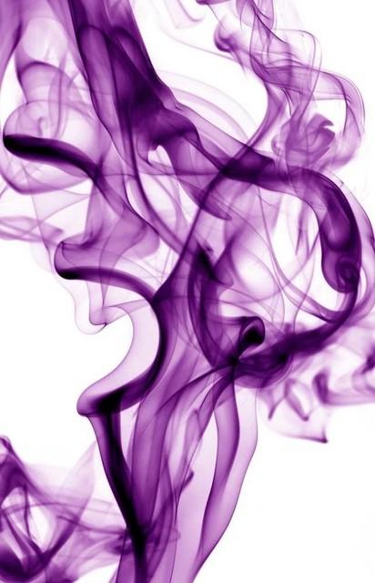"""purple Smoke"" Fine Art Canvas Print, 54""x84""."