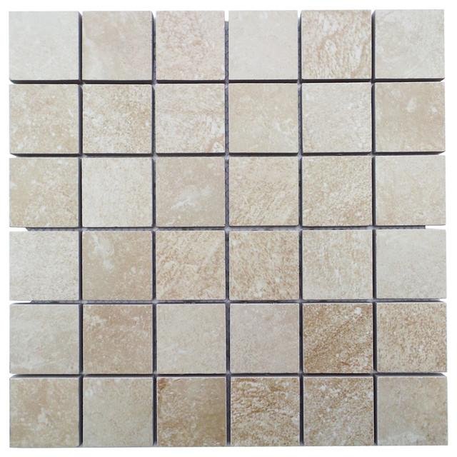 12 Quot X12 Quot Kensington Mosaic Tiles Set Of 10 Contemporary