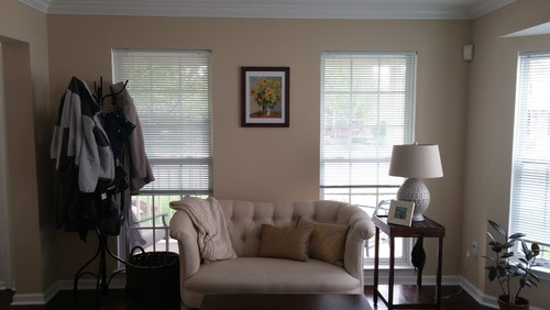 Window Treatment For Full Length Windows And Bay Window
