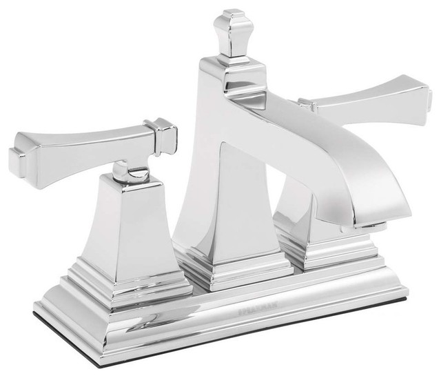 Speakman Rainier Collection 4 Inch Centerset Faucet in Polished Chrome  transitional bathroom faucets. Shop Houzz   Speakman Company Speakman Rainier Collection 4 Inch