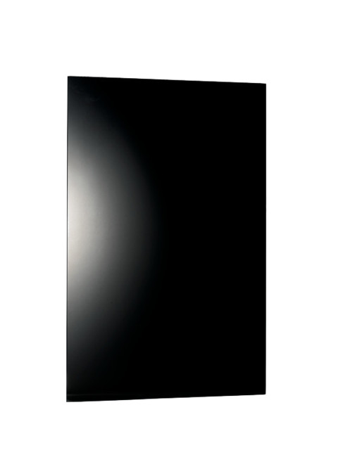 "Warmlyyours Ember Heating Panel Glass Black Frameless 800w, 47"" X 24"", 120v."
