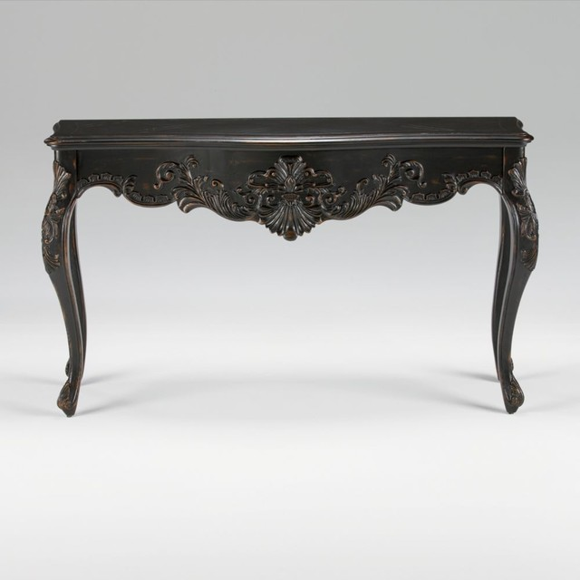 Maison By Ethan Allen Joelle Carved Console