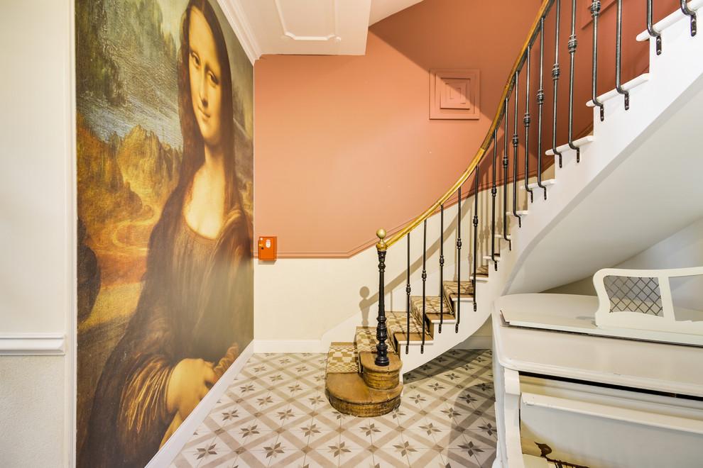 Réfection cage d'escalier et entrée immeuble