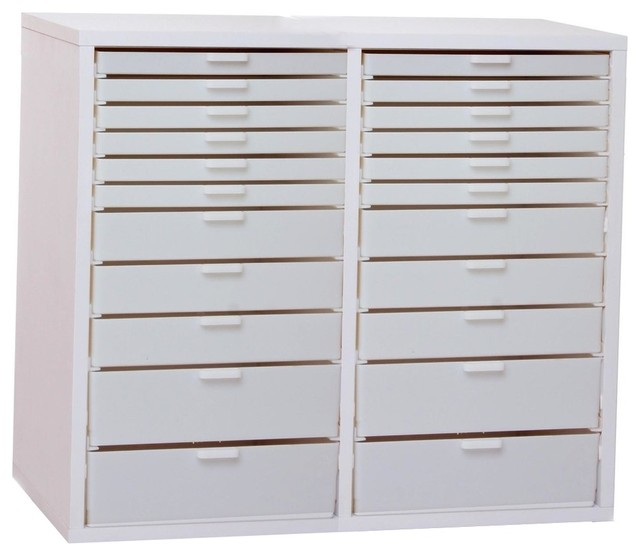 Double Wide Kit V - Contemporary - Filing Cabinets - by Best Craft Organizer