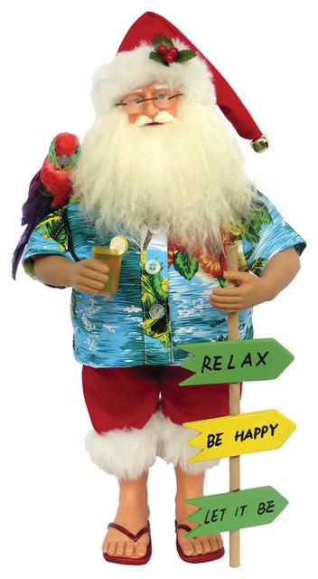 "15"" Buffet Beach Claus"