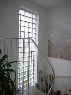 ersatz von glasbausteinen im treppenhaus milch oder. Black Bedroom Furniture Sets. Home Design Ideas