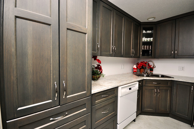 Gray Stained Hickory Transitional Vancouver By Living