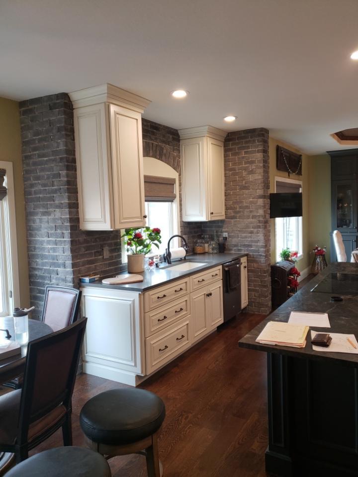 Trendy home design photo in Denver