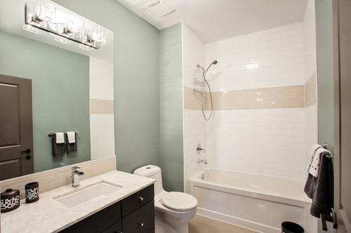 Attached pictures are just for reference point, not actual bathroom we are  remodeling. Thanks in advance Houzz'ers!