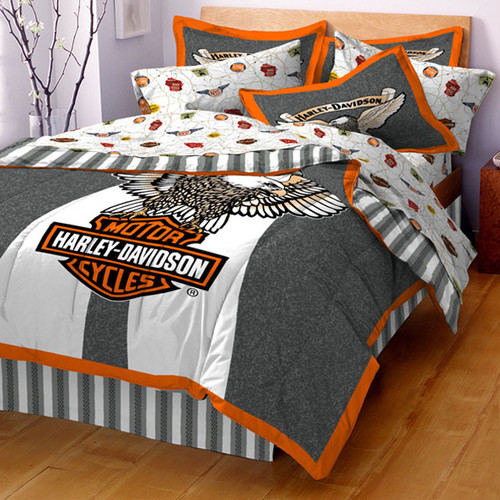 Harley davidson bedding for Housse sofa walmart