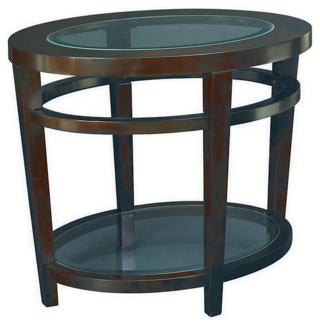 Parkdale Oval Coffee Table: Hammary Urbana Oval End Table