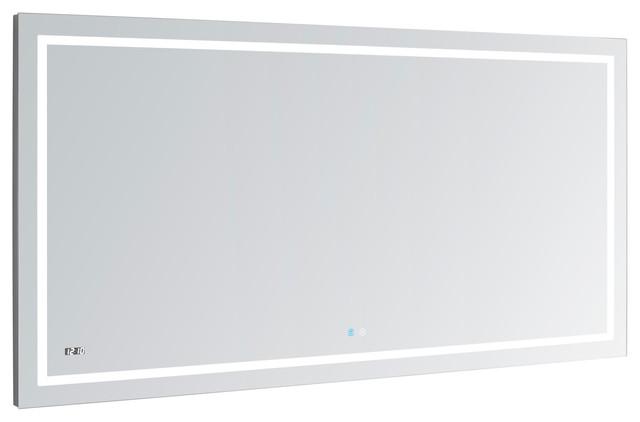 Aquadom Daytona Wall Mount Led Lighted Mirror 60 Quot X 36 Quot X1