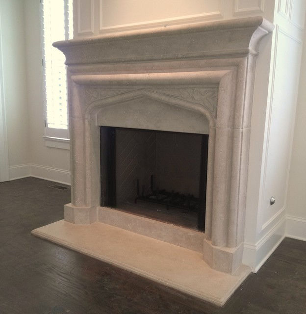 Limestone Fireplace Surrounds - Limestone Fireplace Surrounds - Atlanta - By Artistic Accents