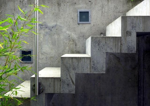 steintreppe au en. Black Bedroom Furniture Sets. Home Design Ideas