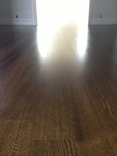 Is This What Finished Hardwood Floors Should Look Like?