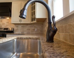bronze faucet with stainless sink can i do bronze kitchen faucet with stainless steel sink 7958
