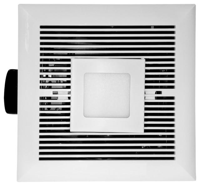 Tatsumaki Ld-120 Bathroom Fan, 120 Cfm Ultra Quiet With Led.