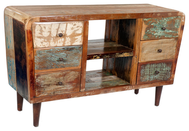 DT - Reclaimed Wood Plasma TV Stand & Reviews | Houzz