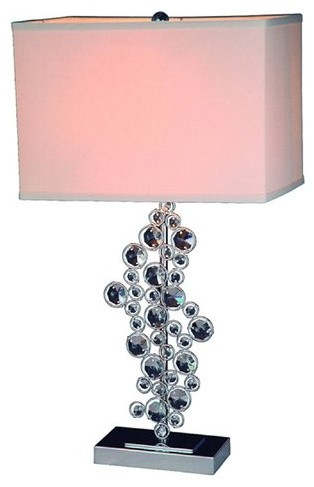 "All The Rages Lt1027 Elegant Designs 26"" Height 1 Light Table Lamp."