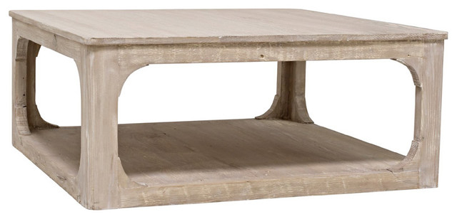 Cfc Furniture, Reclaimed Lumber Gimso Coffee Table, Square