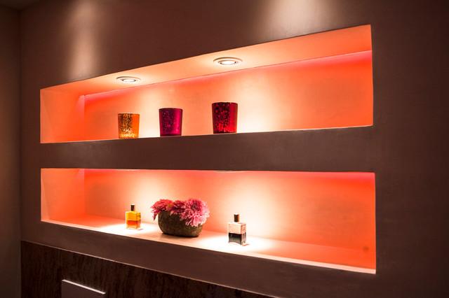 Beleuchtete Nische Aus Rgb Led   Modern   Cologne   By Torsten, Badezimmer