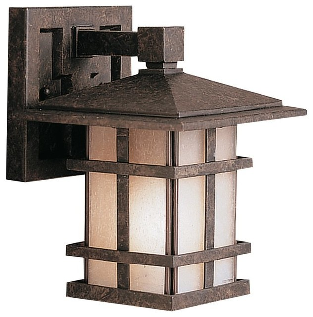 Kichler Cross Creek Arts And Crafts Mission Outdoor Wall Sconce X Zga8219 Traditional