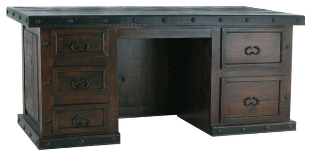 Southwestern Rustic Executive Desk.
