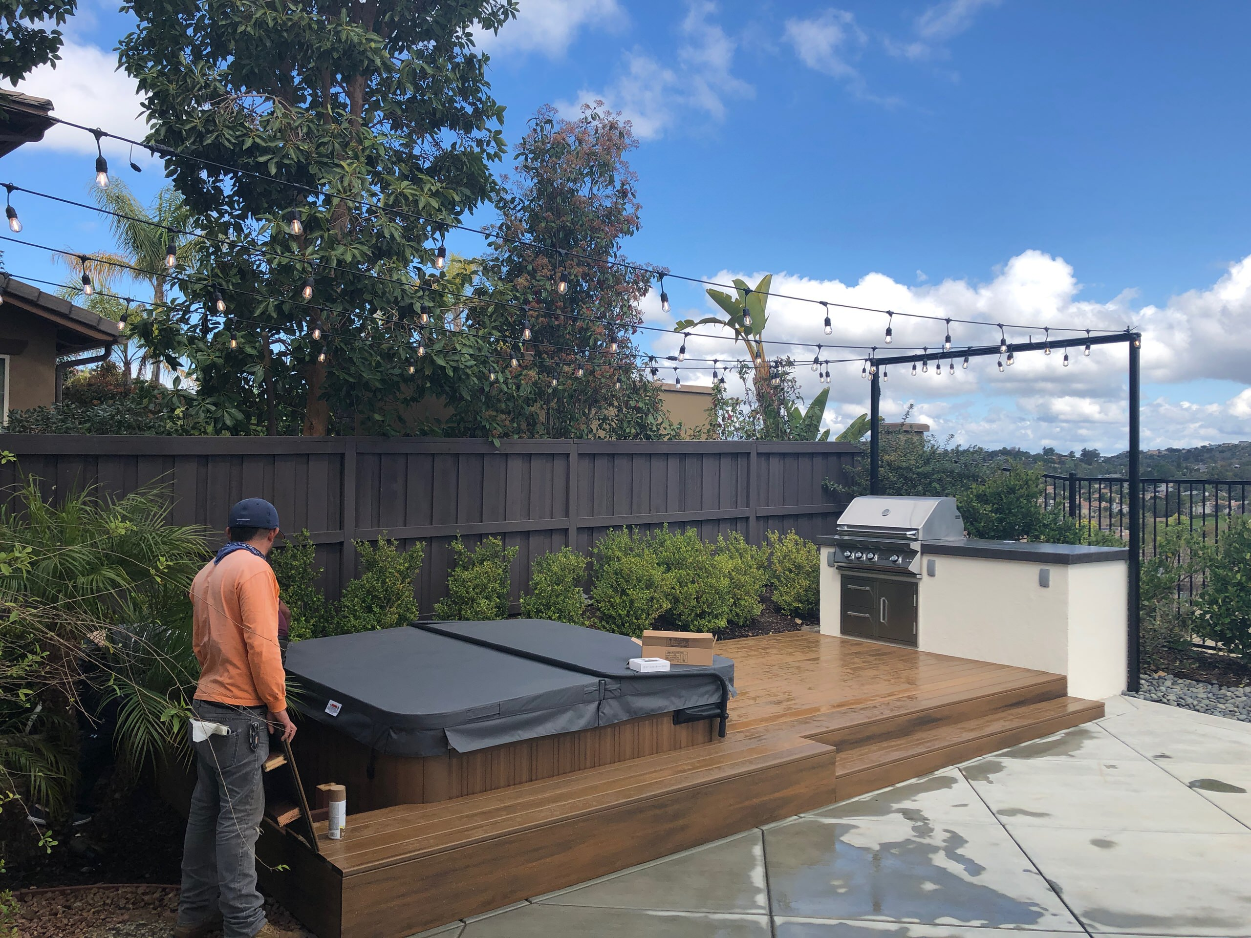 Wrapping Up a New Trex Deck Project