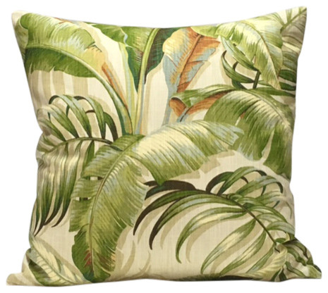 Superbe Tropical Leaves Pillow