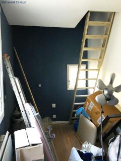 Deux débarras optimisés en mini-duplex de 18 m2 1