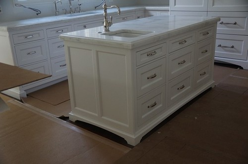 Drawers With One Pull. Also Depends On Your Kitchen Style My Kitchen Is  Traditional.