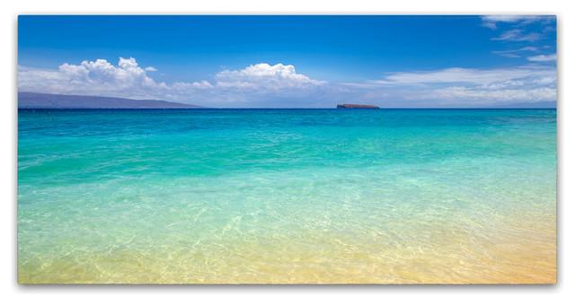 Pierre Leclerc 'Blue Beach Maui' Canvas Art, 47x24
