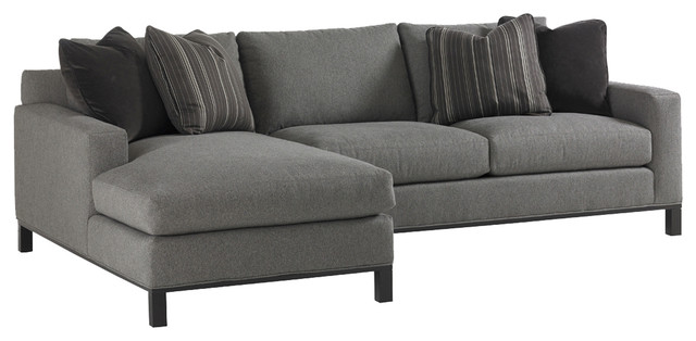 Lexington 11 South Chronicle Sectional contemporary-sectional-sofas  sc 1 st  Houzz : lexington sectional - Sectionals, Sofas & Couches