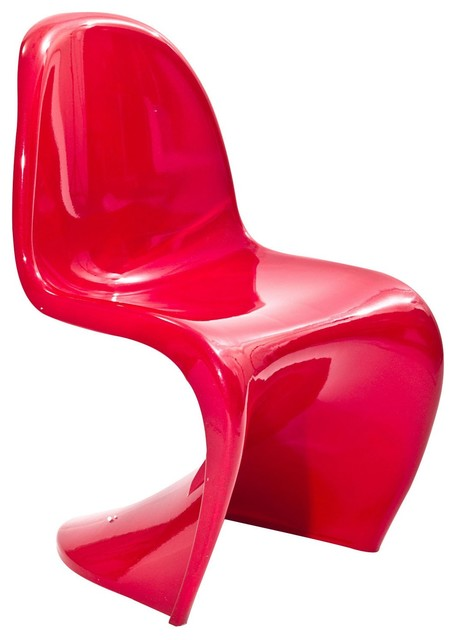 Delicieux Slither Novelty Chair, Red
