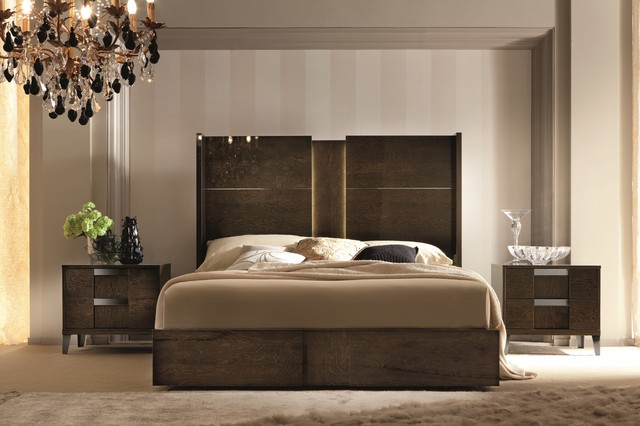 The Murano Bedroom Set Contemporary Bedroom Miami
