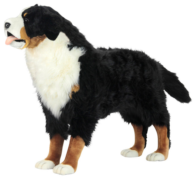 Bernese Mountain Dog Standing Stuffed Animal