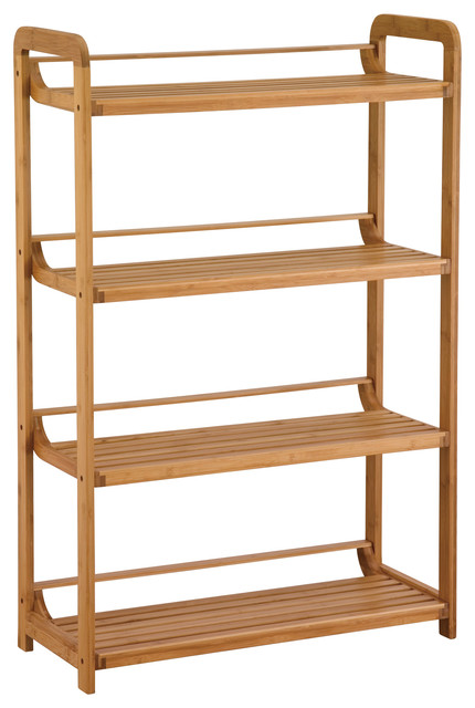 Lohas 4-Tier Shelf - Bathroom Cabinets And Shelves - by Organize It All