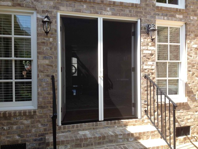Double french doors - Traditional french doors exterior ...
