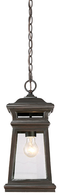 Taylor 1-Light Outdoor Pendants/chandeliers, English Bronze With Gold.